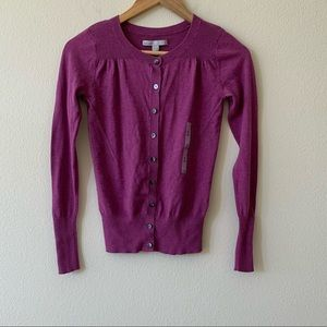NWT OLD NAVY mauve pink cardigan in size XS.